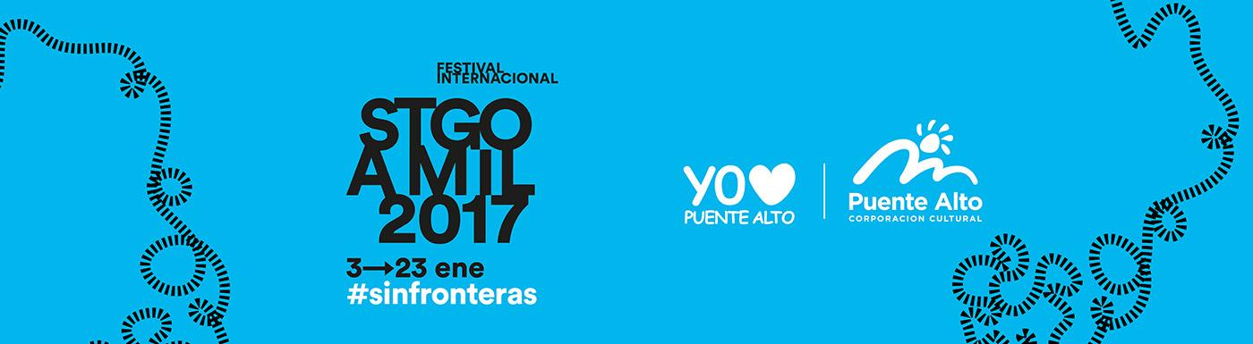 """Santiago a mil 2017 """"sin fronteras"""" promete sorprender a los puentealtinos"""
