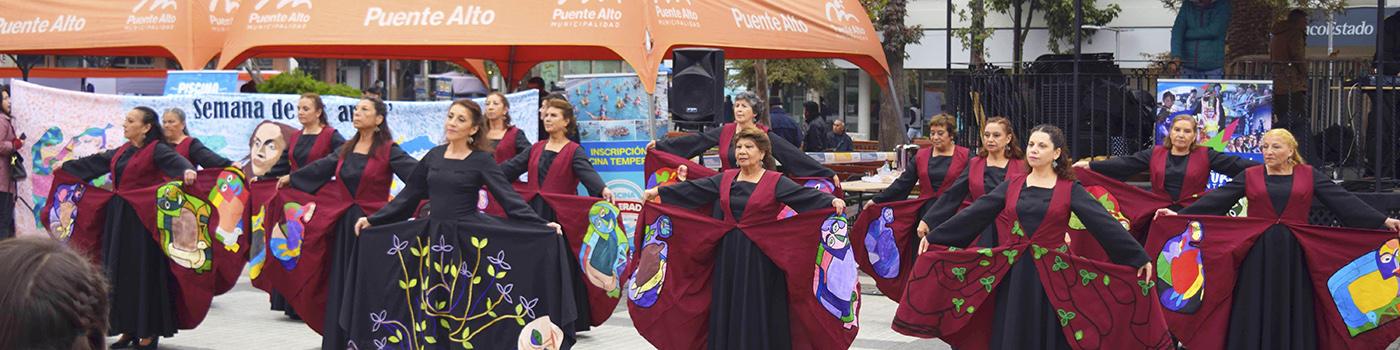 "Elenco Bafopal adulto mayor, participó en ""Coros a Violeta"""