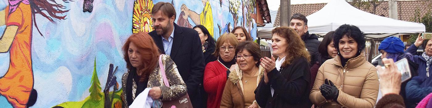 """""""Dale Vida a Tu Muro 2017"""", inauguró un nuevo mosaico comunitario"""