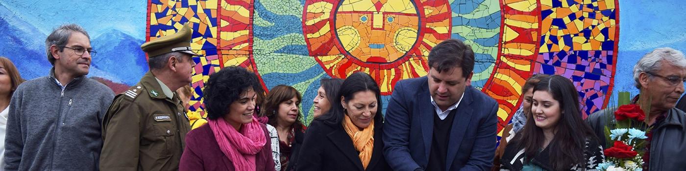 Puente Alto tiene un nuevo mosaico comunitario.