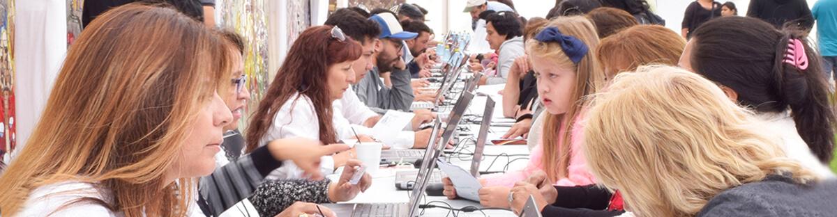 Más de 1500 personas se inscribieron durante nuestra Expo Talleres.
