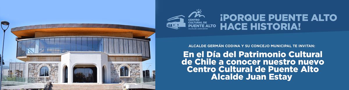 Puente Alto celebrará el Día del Patrimonio.