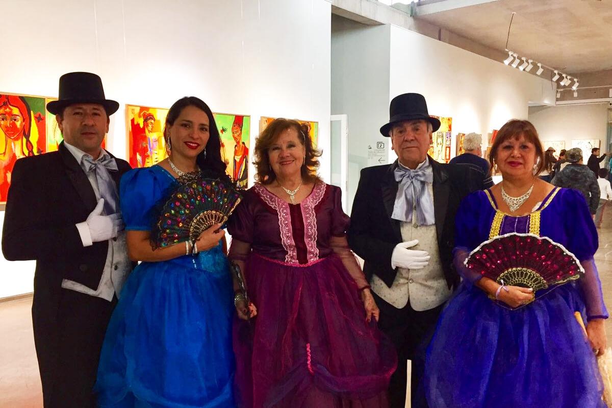 Cientos de personas celebraron el Día del Patrimonio en el Centro Cultural de Puente Alto.