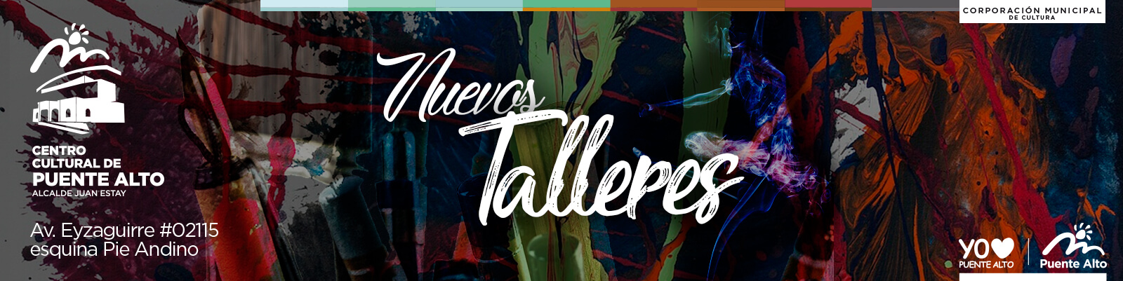 Tres nuevos talleres se suman al Centro Cultural de Puente Alto