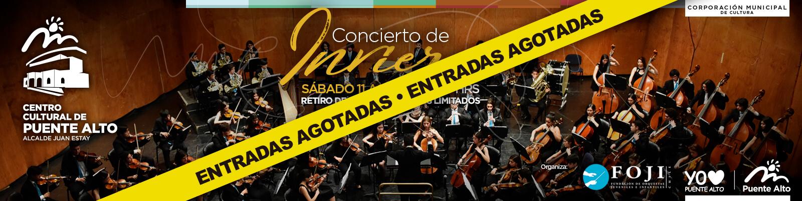 Más de 130 músicos darán vida al primer concierto Sinfónico del Centro Cultural de Puente Alto.