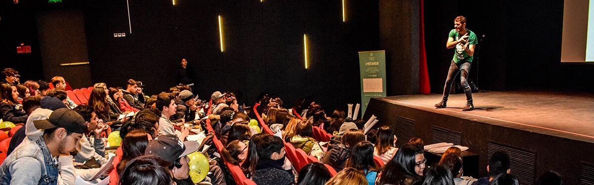 Partners For Passion se presentó en el Centro Cultural Puente Alto.