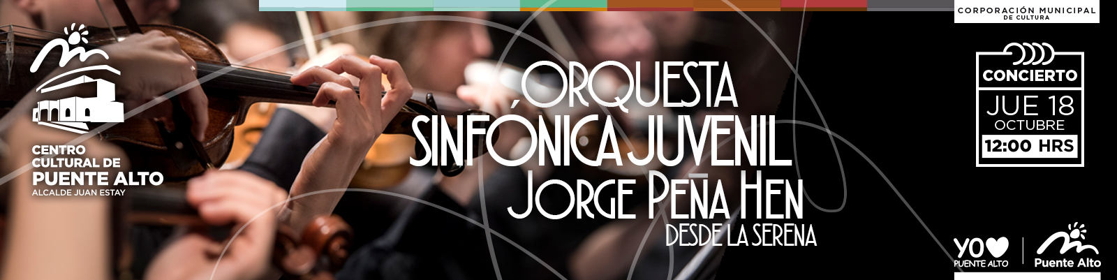 Concierto Orquesta Sinfónica Juvenil Jorge Peña Hen.