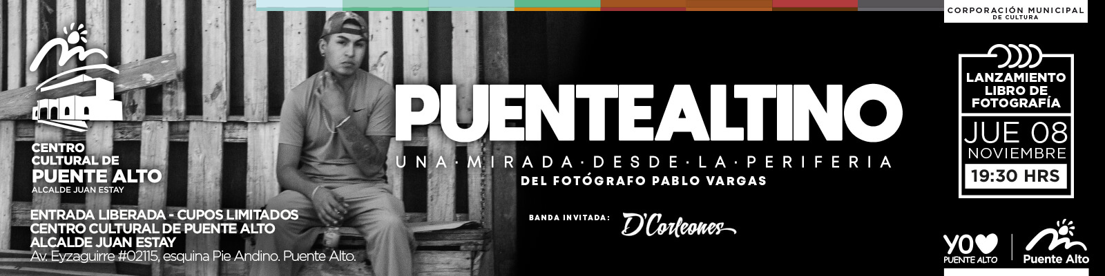 Lanzamiento del libro Puentealtino: Una Mirada desde la Periferia.