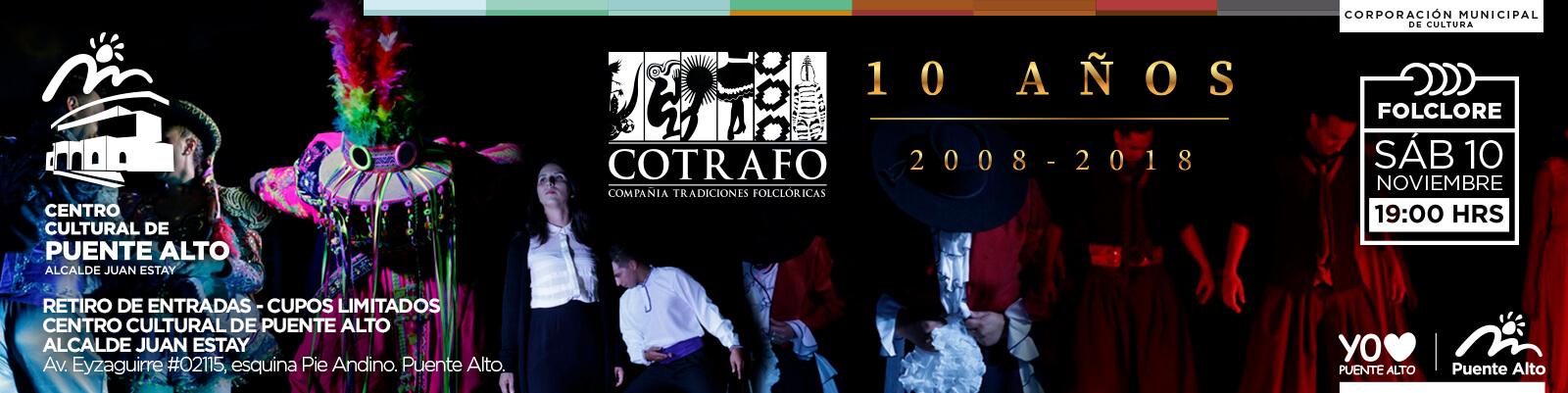 Gala Aniversario, 10 años de COTRAFO.