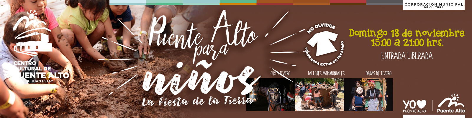 Puente Alto para Niños: La Fiesta de la Tierra.