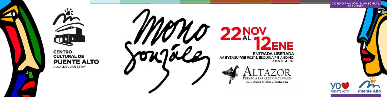 Exposición de xilografías del muralista Mono González.