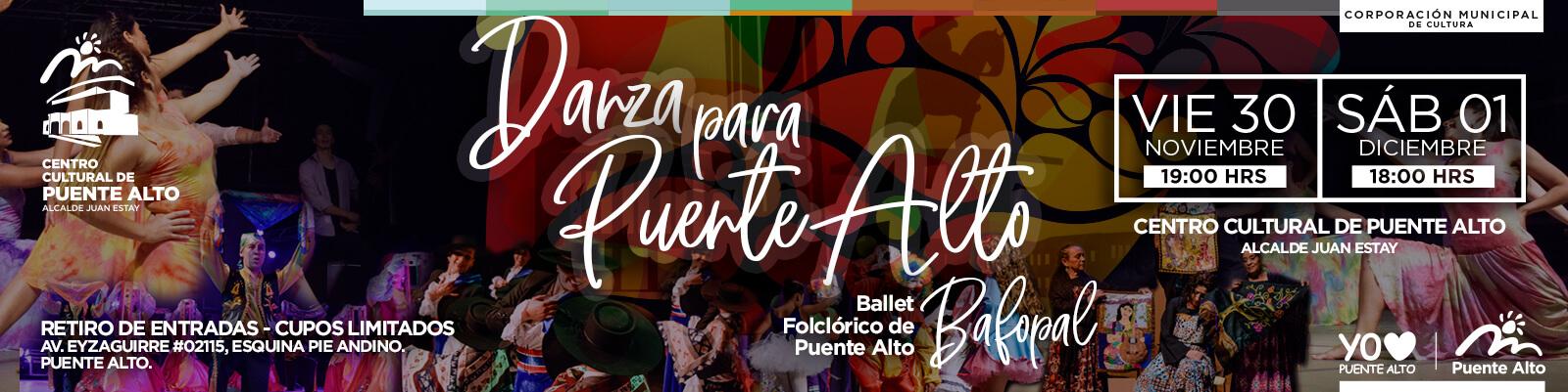 BAFOPAL Danza a Puente Alto.