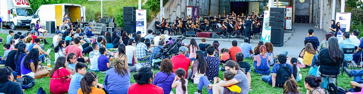 Orquesta Sinfónica Juvenil de Puente Alto, se presentó en el MIM.