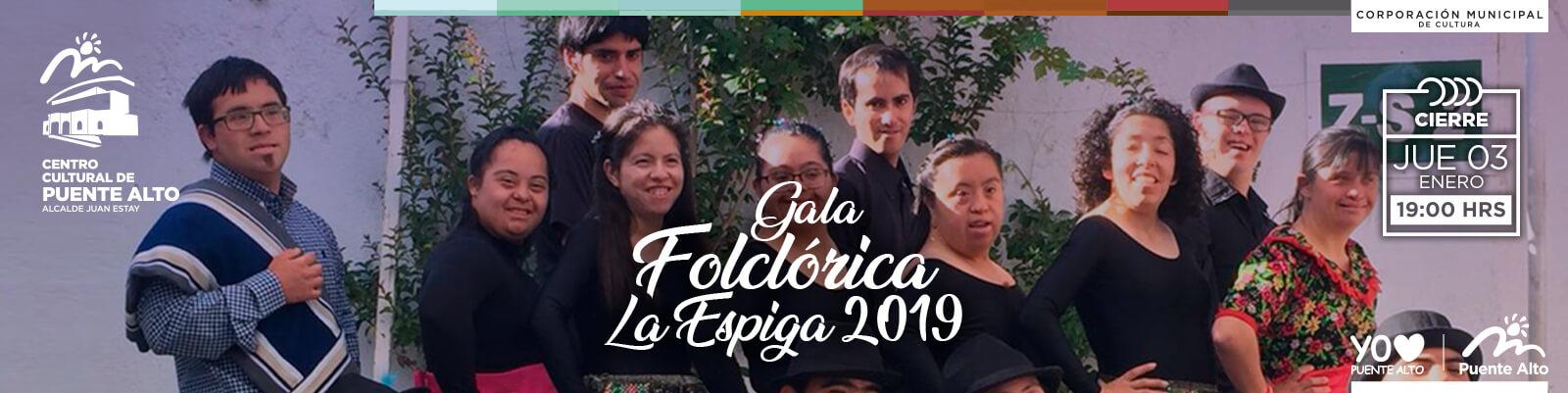 Gala Folclórica Escuela Especial La Espiga 2019.