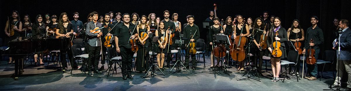 Cierre de Talleres Orquesta Sinfónica Juvenil de Puente Alto 2018.