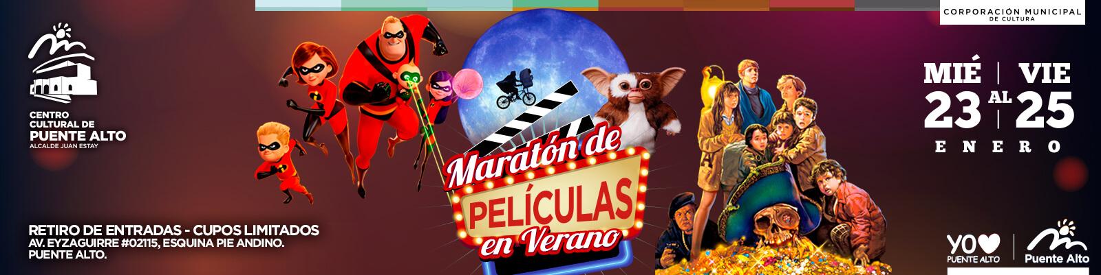 Maratón de Películas de Verano.