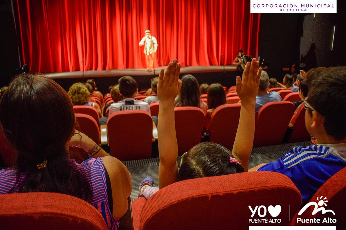 Cientos de Puentealtinos fueron parte de Teatro en tus Vacaciones.