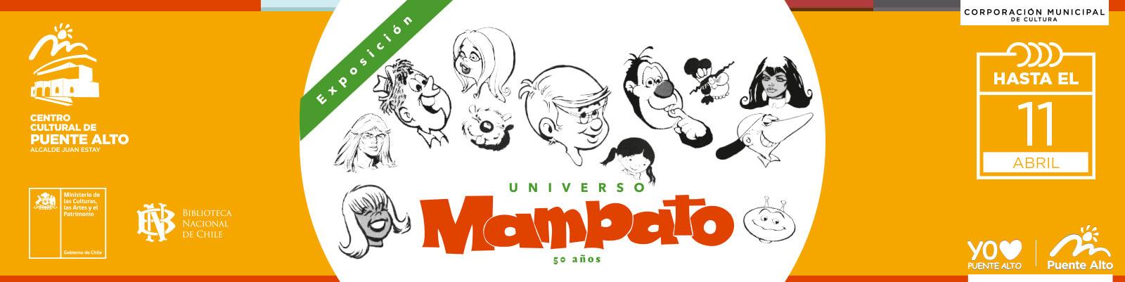 """Visita la Exposición """"Universo Mampato""""."""