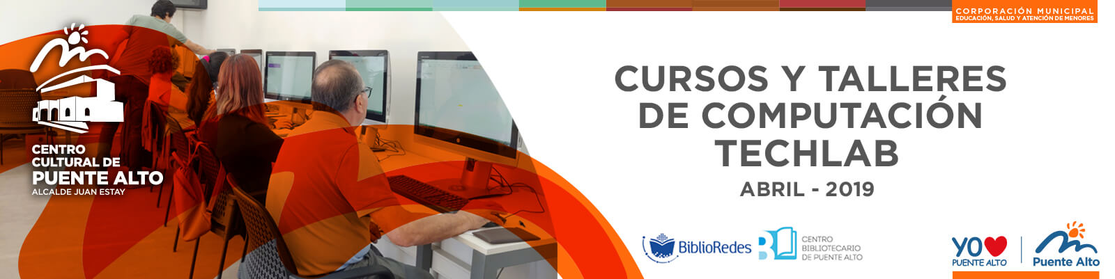 Nuevos Cursos y Talleres en el Techlab del Centro Cultural de Puente Alto.