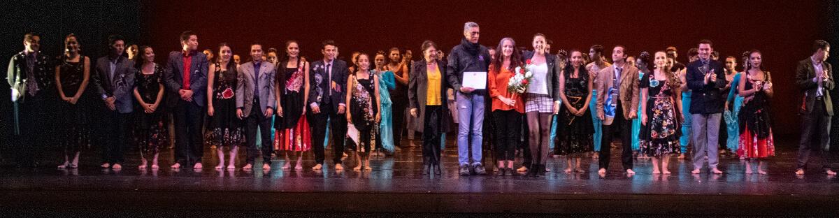 BAFOPAL se presentó en el Teatro Municipal de Santiago.