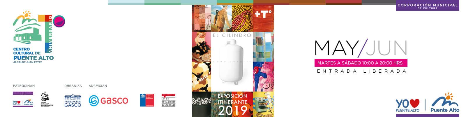 Visita la nueva exposición de nuestro Centro Cultural de Puente Alto.
