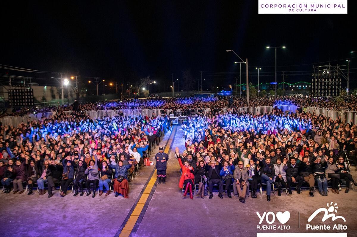 Junto a nuestros vecinos celebramos el 1º año de vida del Centro Cultural de Puente Alto.