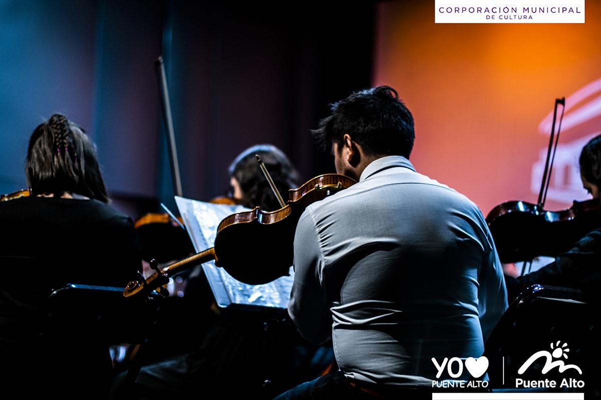 Exitoso concierto de Otoño de la Orquesta Sinfónica Juvenil de Puente Alto.