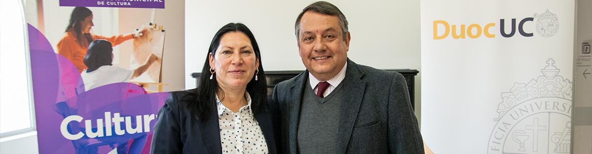 Firmamos un importante acuerdo de trabajo colaborativo con Duoc UC Sede Puente Alto
