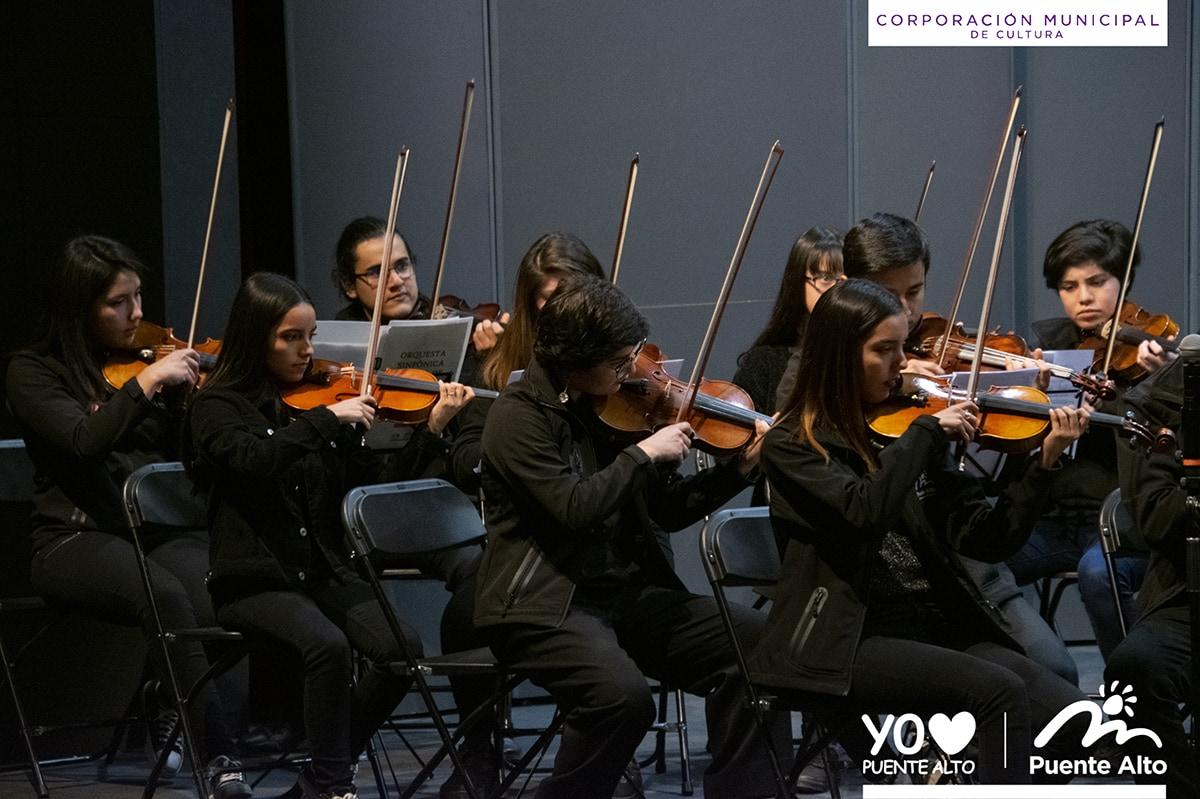 Con éxito se realizó el encuentro de Orquestas Sinfónicas Juveniles 2019.