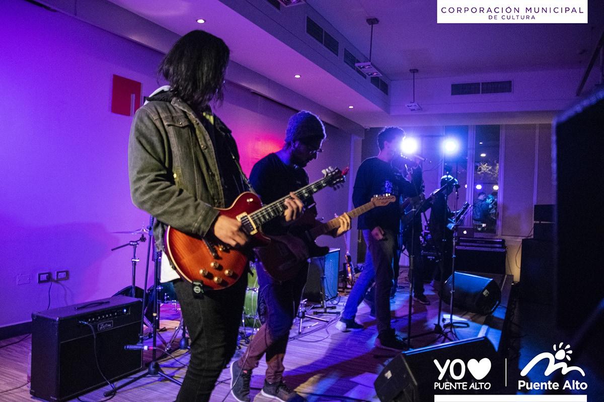 Exitosa presentación de la Escuela de Rock de Puente Alto en Winter Rock.