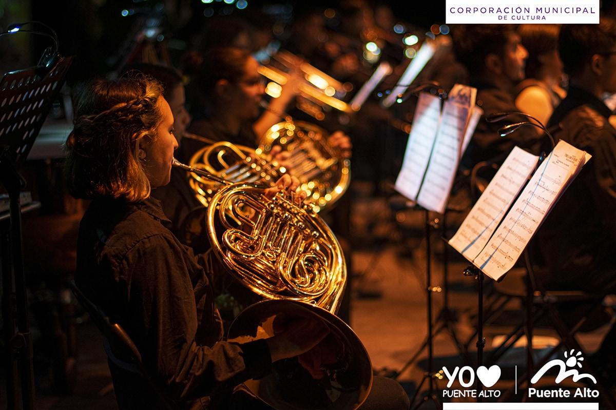Con un gran concierto despedimos el mes de agosto en el Centro Cultural de Puente Alto.