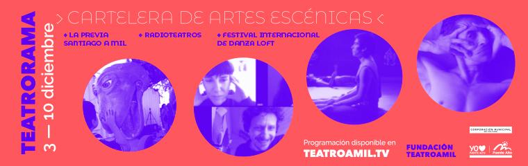Radioteatro y danza para disfrutar junto a Teatrorama